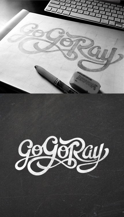 type-lover:  Go-Go Ray