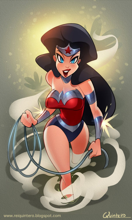lulubonanza:  Wonder Woman 52 by *reiq