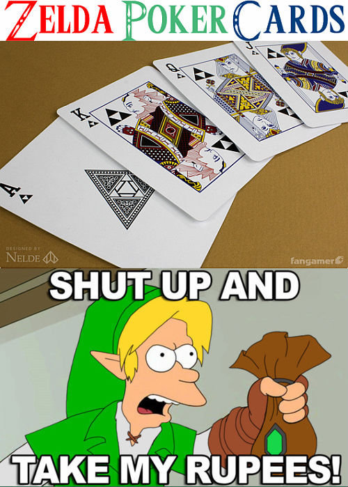 gamingfunniest:  SHUT UP AND TAKE MY RUPEES Follow this blog for more great gaming posts