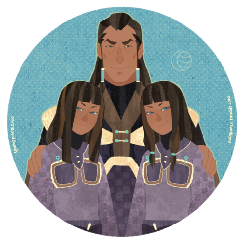 polapaz321:  bryankonietzko:   polapaz321:  NWT royal family.  I hadn't checked out IsisT's blog in a while. The stream of amazing (and bizarre) LOK fanart seems to still be flowing over there. It is always surreal to see fanart for things that aren't out yet, like this charming piece with Desna, Unalaq, and Eska from Book 2.   I just want to say Thanks Thanks Thanks Thanks Thanks Thanks Thanks  Thanks a lot!!!!Until now, I still can not believe Mr.konietzko reblog my fanart and tell us the cool twins name. Thank you very much,sir. and I LOVE THE AVATAR VERY MUCH. It give me a lot a lot happy. Thank you very much again.  I AM LOOKING FORWARD THE BOOK2!!!