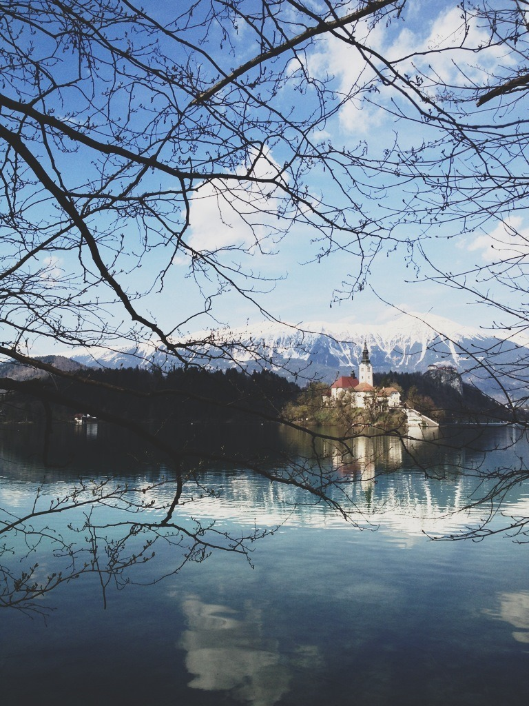Right here. Right now.  Bled, Slovenia.