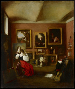 The Artist's Painting-Room, June 12 1830Mary Ann Rebecca Alabaster British, 1805 - 1880Oil on canvas84.5 x 70.4 cmFramed: 109.5 x 95 cmGift of Morton Rapp in memory of Hyman M. Smith, 2008© 2013 Art Gallery of Ontario