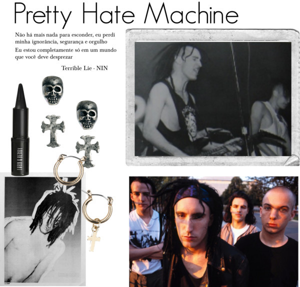 Pretty Hate Machine por honeydoom usando bullet earrings