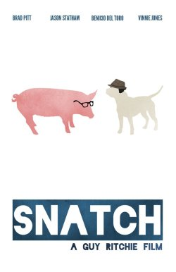 minimalmovieposters:  Snatch by video-massacre