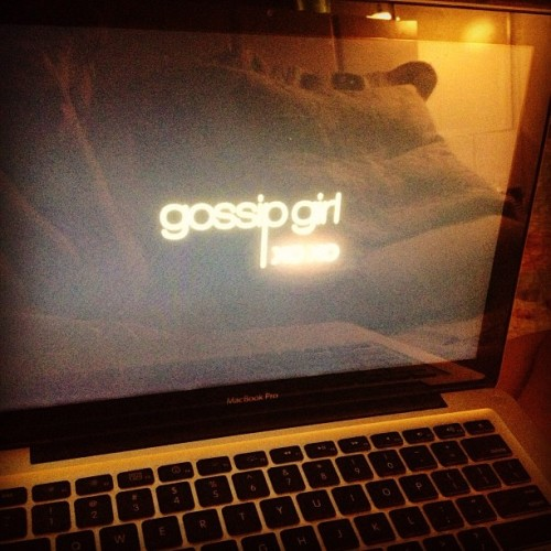 "The last one, perfect! ""You know you love me. Xoxo, Gossip Girl"""