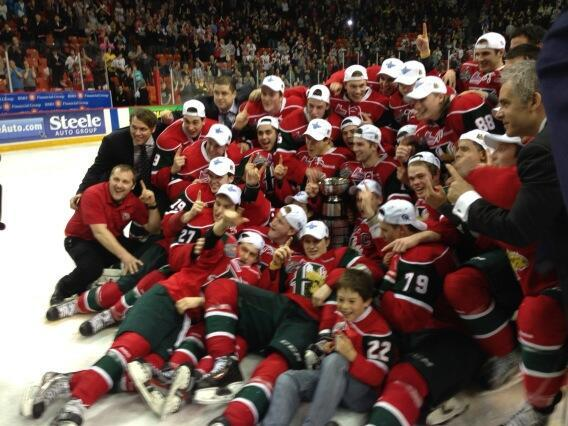 Halifax Mooseheads win the QMJHL and head to Saskatoon for the Memorial Cup.