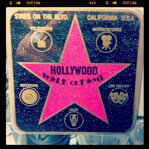 #Hollywood #california #walkoffame #fame #famous #photooftheday #picoftheday #instagood #instamood #igdaily #iphoneonly  (at Hollywood Souvenirs)