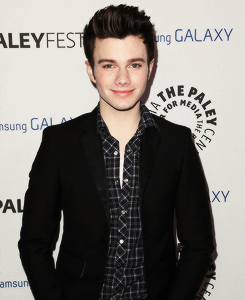 Darren Criss and Chris Colfer arrives at PaleyFest Icon Award 2013