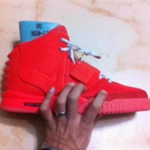 ahmedjones:  New KanyeWest Nike Air Yeezy 2 Red Colorway?