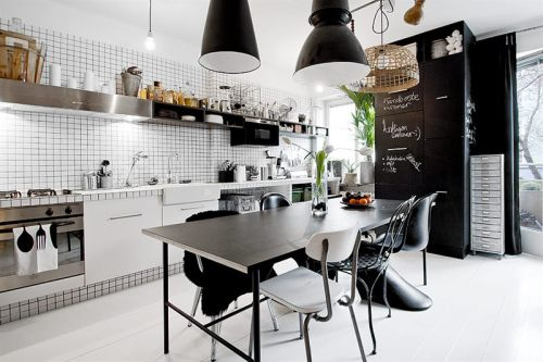 myidealhome:  black accents
