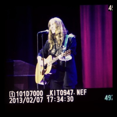 Photographing Patti Smith for #BMCHepburn for @BrynMawrCollege / on Instagram http://instagr.am/p/Vcf3DiDX8p/