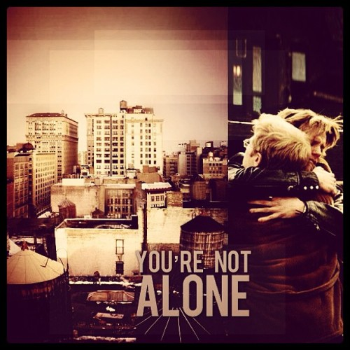 #rent this makes me happy that I'm not alone beacause I feel alone some times