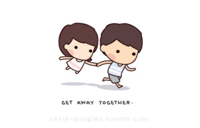 Getting away together <3