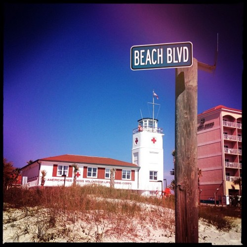 #fromwhereibike #biketoworkday #beachblvd (at Jax Bch Lifeguard Station)