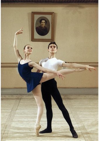 sovushka-en-pointe:  Olesya Novikova and Massimo Garon at Vaganova Academy