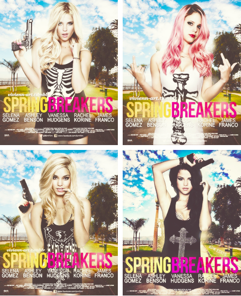 bytheappletree:  love these ladies. SPRING BREAKERS!