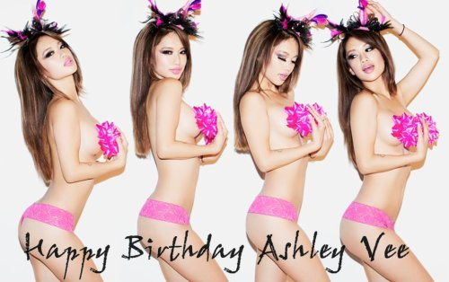 ohdaaaangmary:  Greet birthday girl, Ashley Vee on January 12! Here's an early one >.<