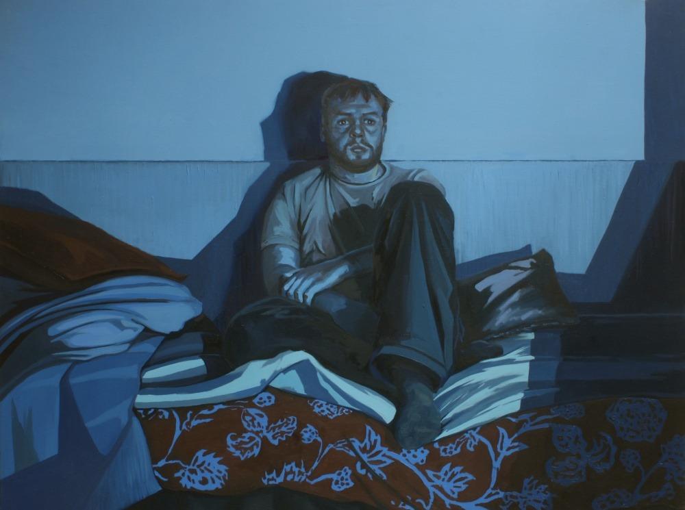"patrykhadas:  Hadas Patrykseries ""TV""2011""TV Eva"", oil on canvas, 100x75cm ""TV Janusz"", oil on canvas, 100x75cm ""TV Father"", oil on canvas, 100x75cm  Light."
