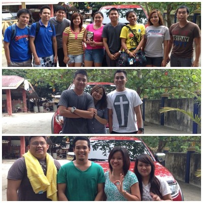 Batch 1, 2 and Mapuans ❤ (at San Felipe, Zambales)