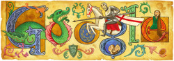 Happy St George's Day! Despite him being England's patron saint, and St George's Day being celebrated on there on 23 April every year, St George has no direct relationship with England. He was Greek and became an officer in the Roman army, with the dragon episode placed somewhere in Libya. London also falls under the long list of his patronage.