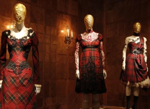 Alexander McQueen Savage Beauty Exhibit at the Met Museum.