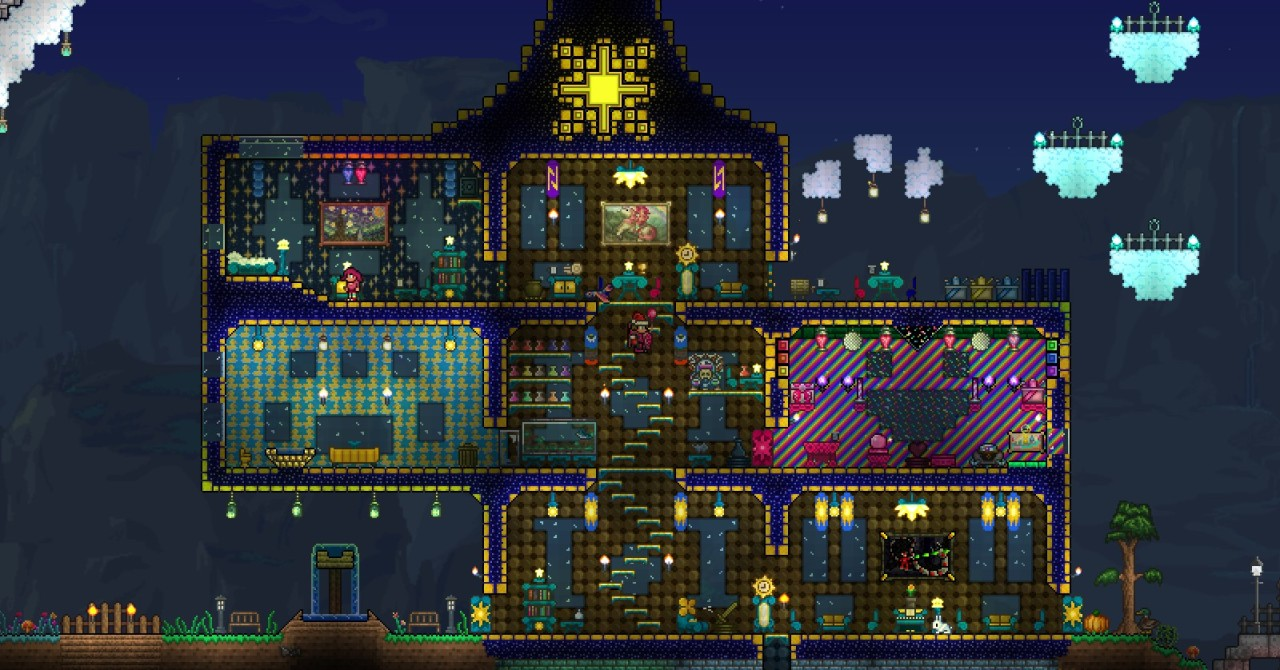 Show Us Your Terraria House Terraria Community Forums