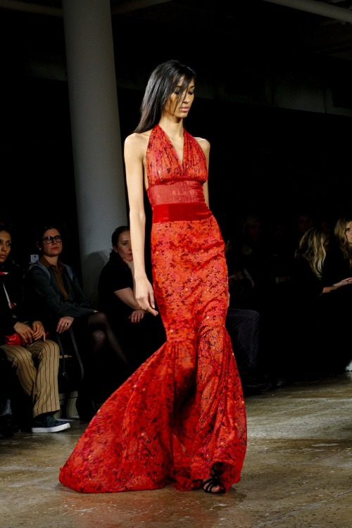 thestyleline:  SOPHIE THEALLET FW2014highlights Words don't really do these gowns justice. Everyone needs a floor-length beauty like the ones you see above, am I right? - RS   Wow is all can say.