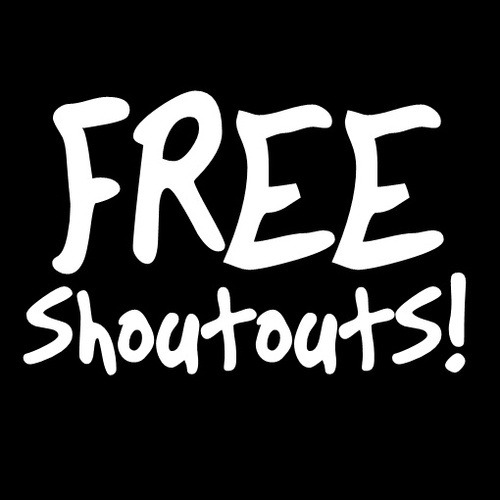 "FREE SHOUTOUTS!!  Listen LIVE to ""Midday Madness"" with Ozzy & Yeti- http://www.shoutcast.com/Internet-Radio/Insomniac  To hear your SHOUTOUT Tweet your song requests to @INSOMNIACLive and dot forget to follow our bloghttp://wirn813.wordpress.com/"