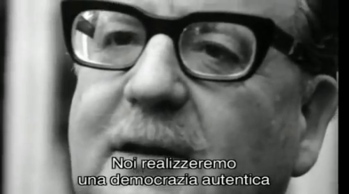 """We'll achieve an authentic democracy"" (Salvador Allende)"