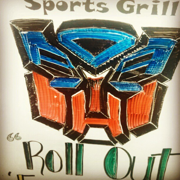 Awesome #barart at #funugyz last night #transformers #autobots
