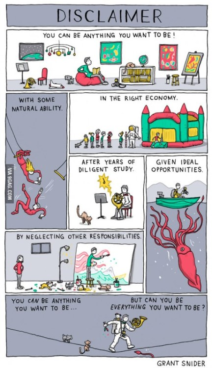 9gag:  Can you really be what you want to be?