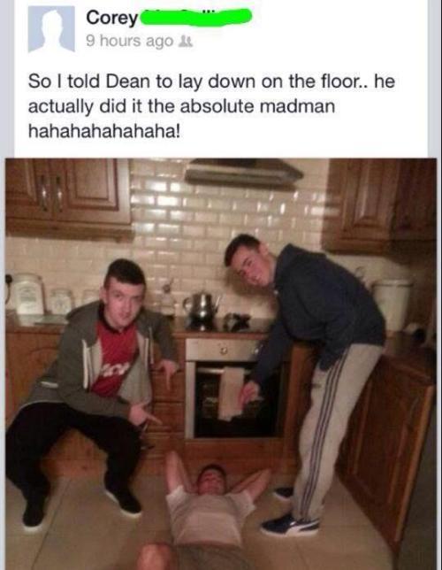 cringepics:  Dean you fucking nutcase