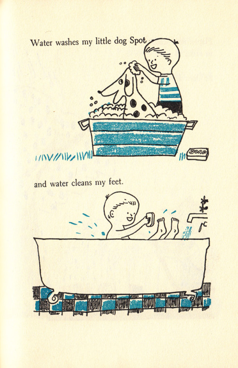 Happy World Water Day! Celebrate with Plink Plink, a lovely vintage illustrated story about water's life-giving gifts from 1954.