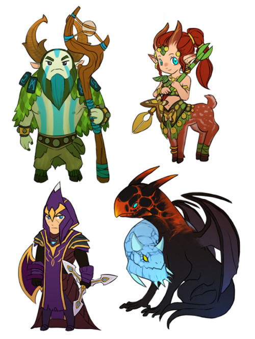 99hunters:  Nature'$ profit, Enchantress, Silencer, Jakiro