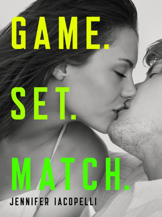 Game. Set. Match by Jennifer Iacopelli  Here's a not so secret secret: I'm not into tennis. I find it boring to watch, all the back and forth, the quiet crowd— it's just not my idea of a sporting event. When I was about ten my dad asked me if I wanted to learn to play tennis and I said no. And I have never regretted that decision until today when I finished Game. Set. Match.  And isn't that the hallmark of great book? To convince you that the world you're immersed in is the best of all possible worlds? To take something you seemingly have no interest in and make it fascinating? Well Game. Set. Match did just that. It made tennis compelling! I think that I'm tennis fan now, a feat I would have thought near impossible.  I reveled in this book. The characters are complex and nuanced.  The girls have grit and the boys have heart; it was effortless to fall in love with them. The plot is riveting, full of rivalries and competition. And who doesn't love a good competition? While the romances are a part of the story, it's not the only thing of interest. Game. Set. Match is also about dealing with pressure and pride, seeking to define who you are and who you want to be, forming friendships and of course, playing tennis. The end was phenomenal: a practical homage to underdog sport stories and the triumph of the human will/spirit. I WANT MORE!  There's only one thing left to say: GO GET Game. Set. Match AND READ THIS BOOK RIGHT BLOODY NOW!  Overall: A+  Game. Set. Match is out now from Coliloquy. Get your copy here.   e-copy provided gratis via Coliloquy