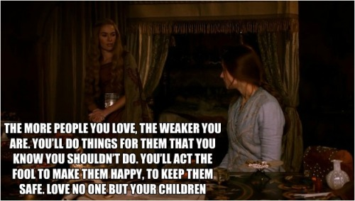 what-is-dead-may-never-die:  Cerseis Wisdom  piles of gameofthrones