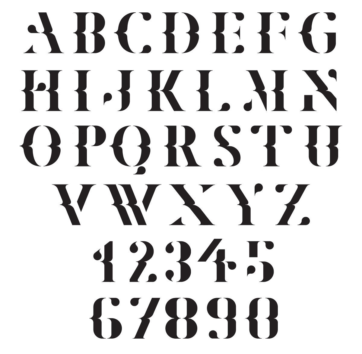 typethatilike:  Marle  Marle is a bespoke typeface designed with the intention of being used for editorial purposes such as magazines and posters  letasobierajski.net