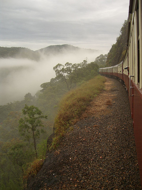 Kuranda Scenic Railway in Queensland, Australia (by Pat Scullion).