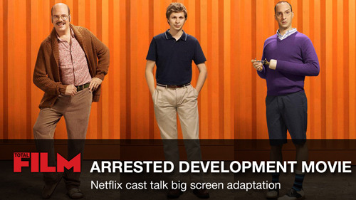 Arrested Development cast talk movie adaptation We're huge Arrested Development fans at Total Film, so we couldn't be more excited about the new series that's going to be released (in full) on Netflix on May 26.  But we're already thinking about what's in store for us after we've watched the new episodes over and over - so, as we had the afternoon free (nothing cancelled), we headed down to the Leicester Square premiere of Season Four, to ask the cast about the much-mooted big screen version…