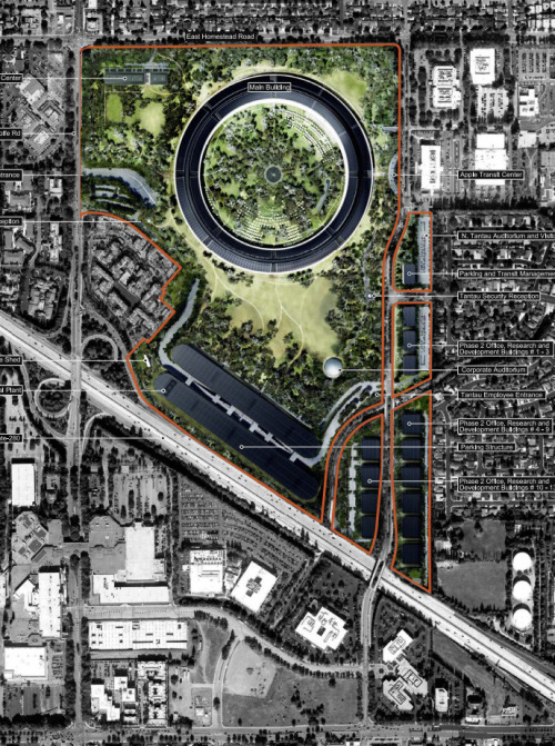 arkitekcher:  Apple Campus | Foster + Partner's Location: Cupertino, California, USA