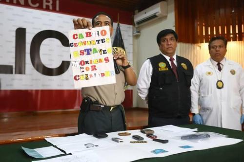Así amenazan los sicarios del norte peruano