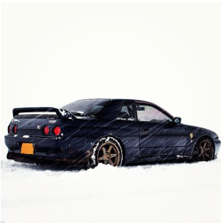 njborn95:  hoybrian:  Snowed in Skyline  Cool shot, by that poor under chassis.