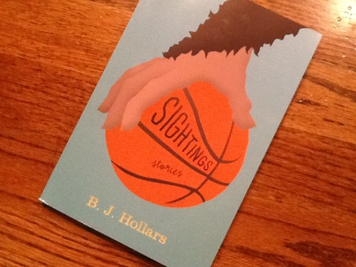 sighted: an ARC of BJ Hollars's new collection arrived in the mailbox today! suckers!!