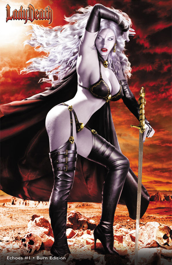 Lady Death: Echoes #1 - Burn Edition