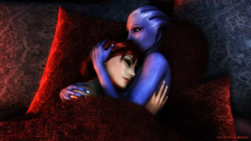 My true love…@MassEffect  Pic by Malluxable