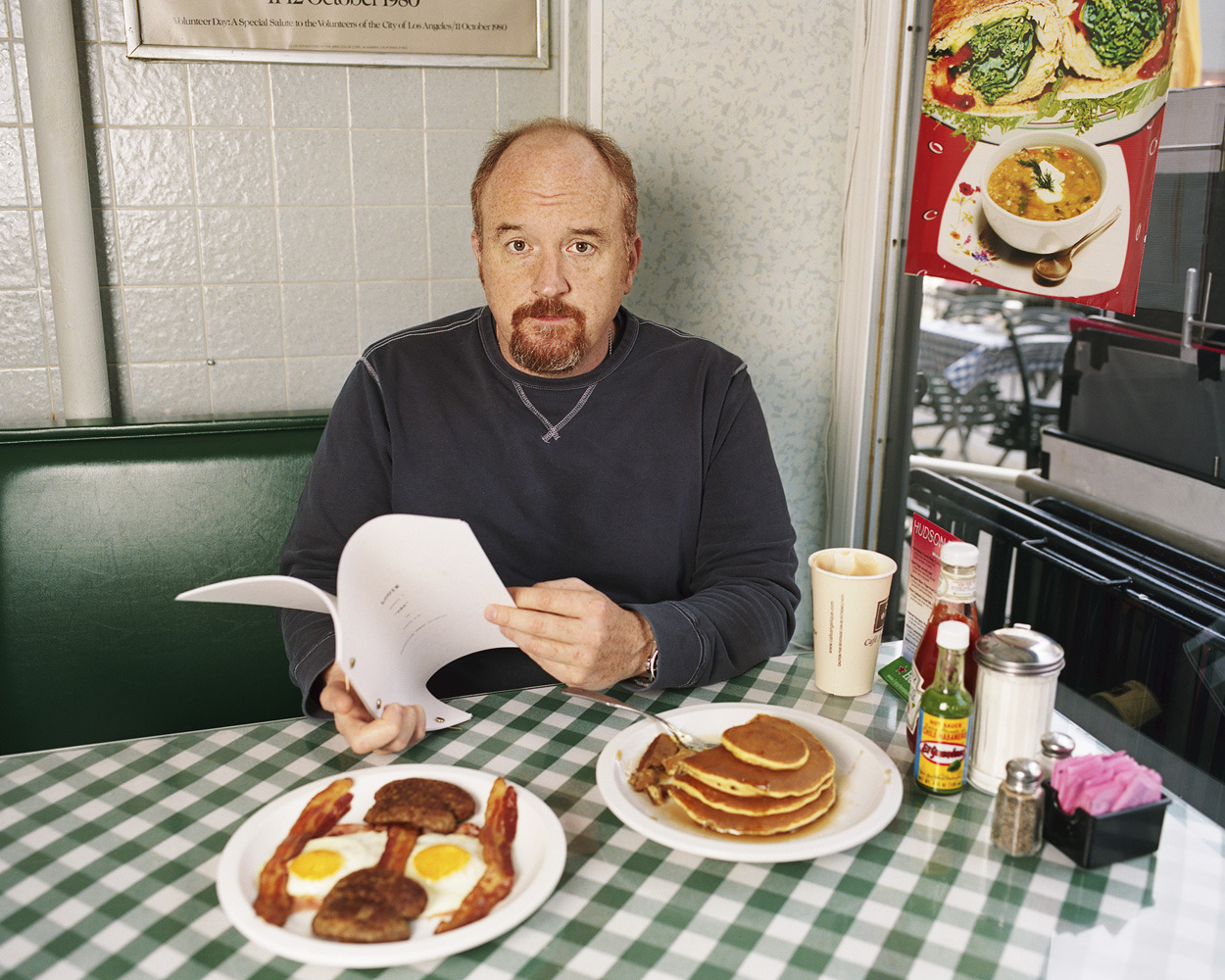 Above: Louis CK, photographed by Gillian Laub for TIME A great portrait captures the very essence of its subject, and this year, TIME continued its long legacy of storytelling with a number of compelling photographs of newsmakers, from politicians and businessmen to comedians and Oscar winners. Check out TIME's best portraits of 2012.