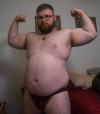 Joshthebullpup body building update time @beefybuddies