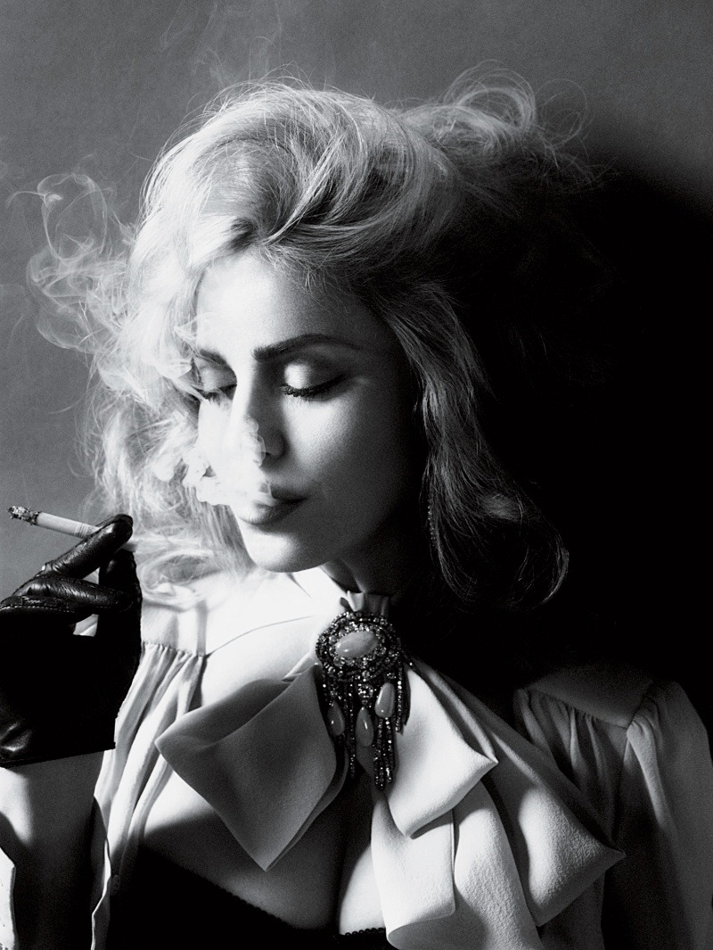 Madonna photographed by Mert and Marcus for Interview, 2010
