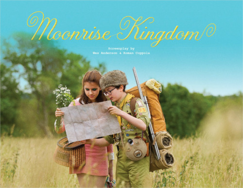 Illustrated screenplay of Moonrise Kingdom available for download and viewing here. via the Oki-ni Daily