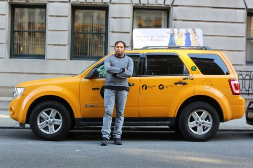 "humansofnewyork:  Meet Mohsin Shezad. I left my iPhone in the backseat of Mohsin's cab on Thursday. When he discovered it, he drove back to where he'd dropped me off, and spent several minutes looking for me. When I finally called an hour later, he was all the way across town, but drove 30 minutes to meet me. Then he tried his damnedest to refuse a reward, saying: ""Please sir, your fare was enough. Please sir, no."" This man has a wonderful and humble soul."